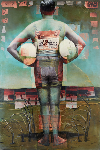 , 'Coxey's Life Saver and Water Wings 1913,' 2014, Hudson Milliner Art Salon