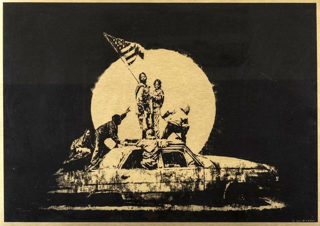 Banksy, 'Flag ', 2007, Kings Wood Art