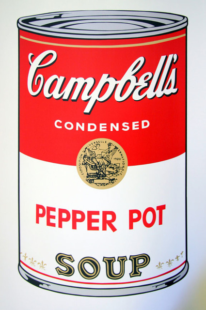 Andy Warhol, 'Campbell's Soup - Pepper Pot - Sunday B. Morning (After)', ARTEDIO