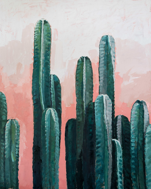 , 'Cactus on Pink,' 2016, &gallery