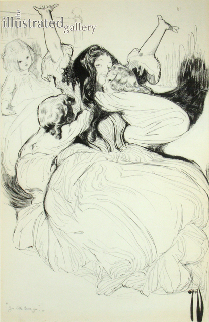 Rose Cecil-Latham O'Neill, 'The Expedien', 1905, The Illustrated Gallery