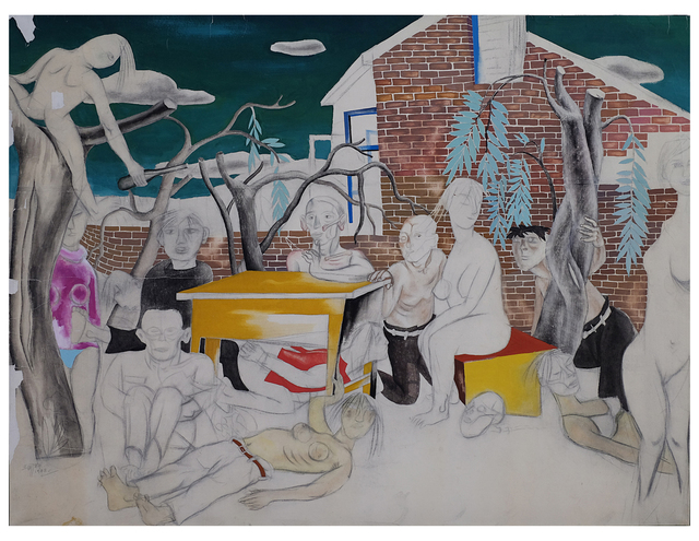 , 'Boring Meeting,' 1988, Beijing Art Now Gallery