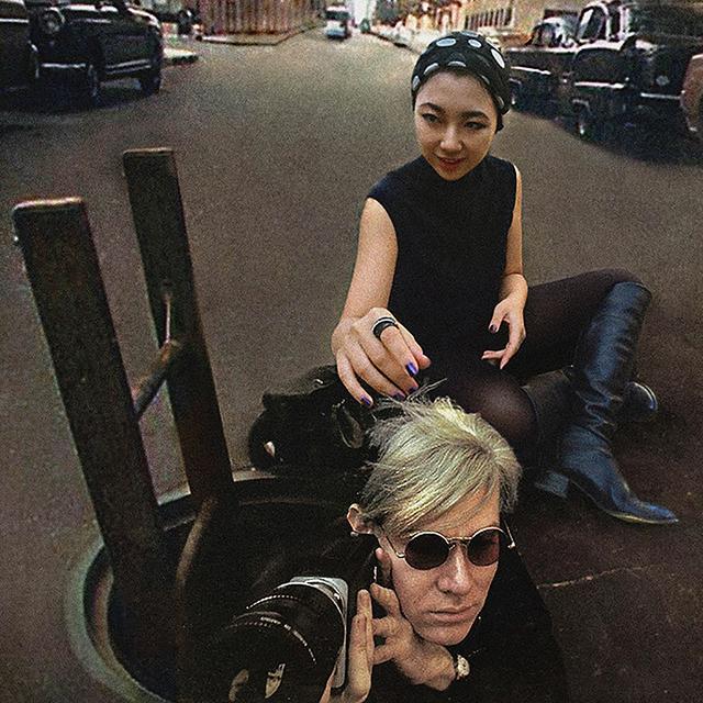 , 'Andy Warhol & Celine Liu II,' 2015, Migrant Bird Space