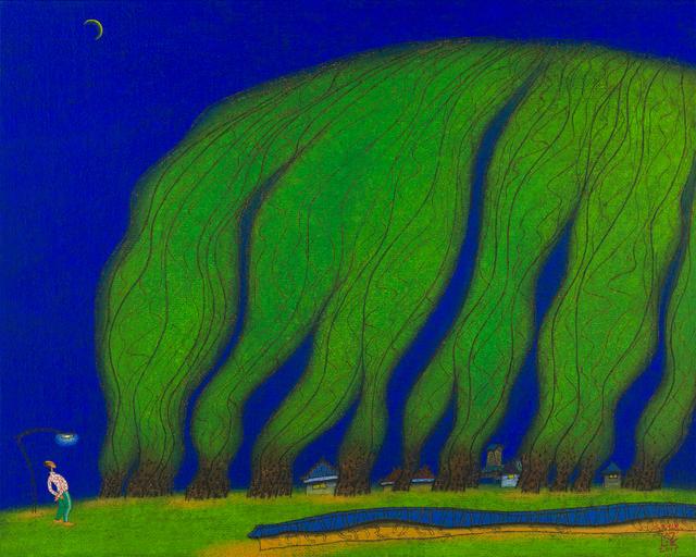 , '3, 초저녁, 100x80cm,' 2015, Gallery Miroonamu