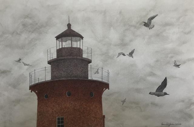 , 'Fog,' 2017, Peninsula Gallery