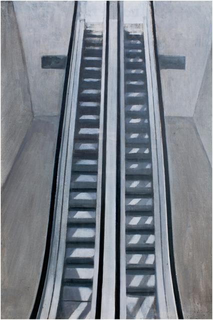 , 'Reflejos sobre la escalers,' 2014, Pilar Serra