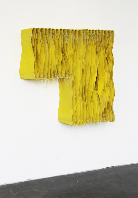 Simon Callery, 'Lemon Yellow Wallspine', 2017, annex14