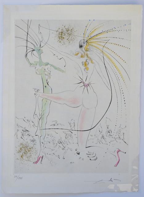 Salvador Dalí, 'La Venus aux Fourrures The Piquant Buttocks ', 1968, Print, Etching, Fine Art Acquisitions Dali