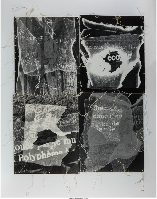 André Villers, 'Photo Collage', 1979, Heritage Auctions