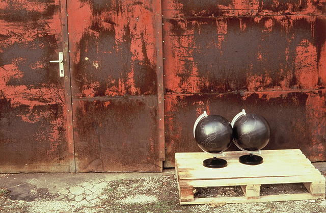 , 'Travelling Globes,' 1990, P74 Gallery