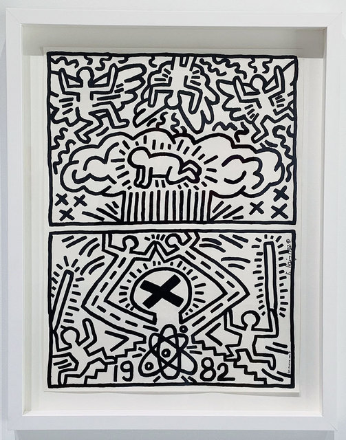 Keith Haring, 'Poster for Nuclear Disarmament ', 1982, Robert Fontaine Gallery