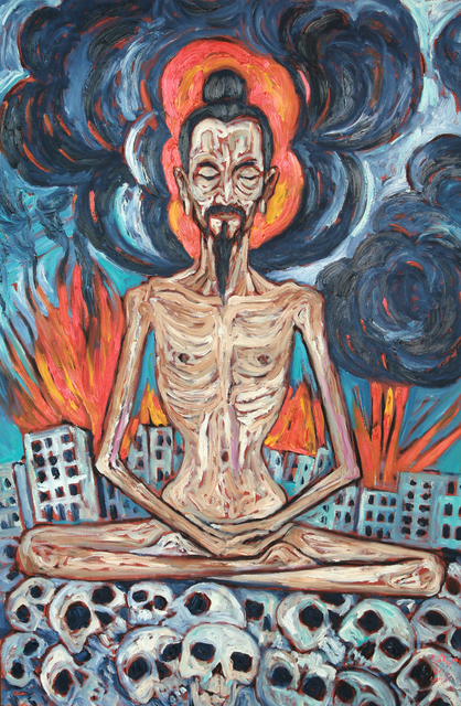 , 'Fasting Meditation,' 2015, S.A.C Gallery Bangkok