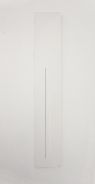 , '1 m 1 step,' 1987, Micheline Szwajcer
