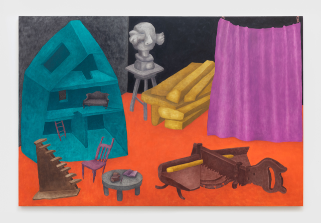 Ginny Casey, 'Behind the Curtain', 2019, NINO MIER GALLERY