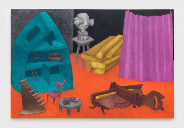 , 'Behind the Curtain,' 2019, NINO MIER GALLERY