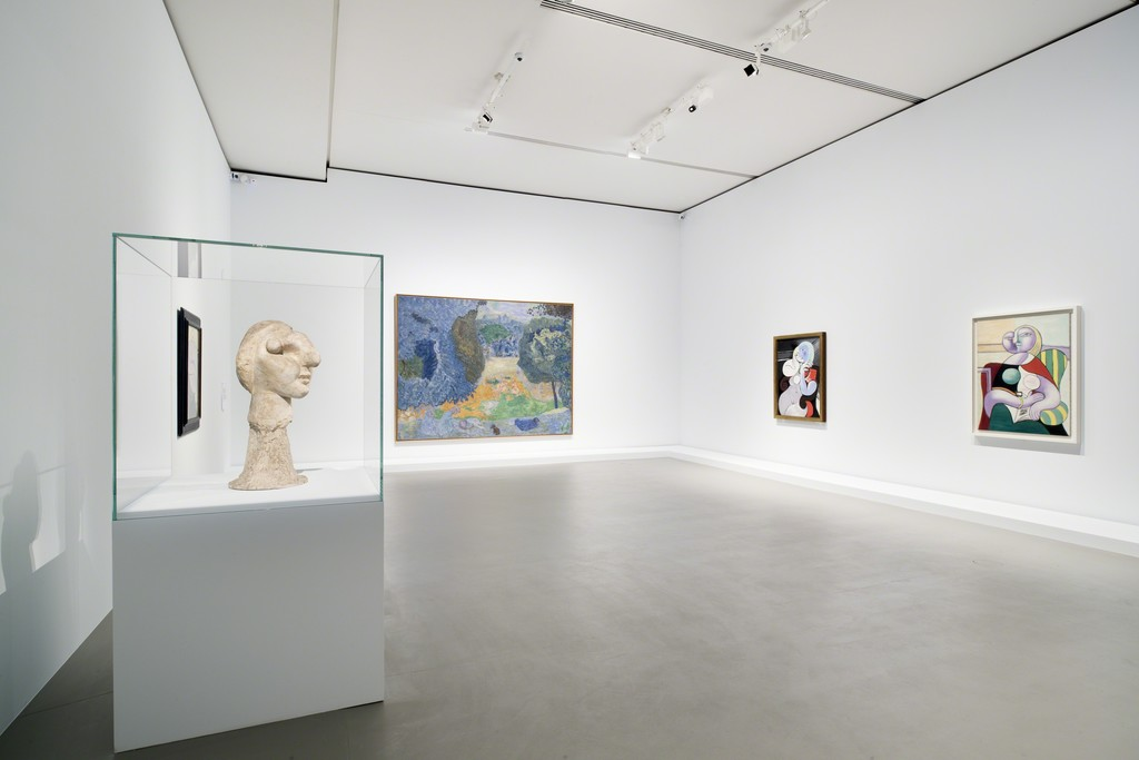 View of Bonnard and Picasso at Fondation Louis Vuitton, Paris 2015