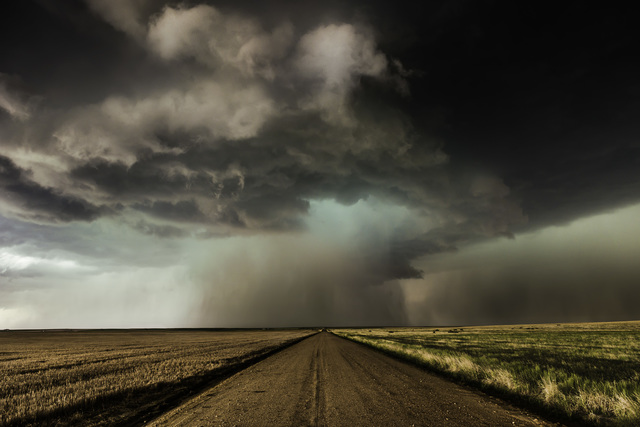 , 'Road with Supercell, Colorado,' 2014, Bernarducci Gallery Chelsea