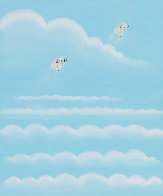 , 'Cloud Hoppers,' 2017, Asya Geisberg Gallery