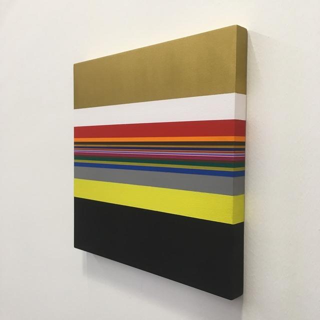 Willem Besselink, 'Romankleuren - Het pad van de gele slippers - Kader Abdolah', 2019, NL=US Art