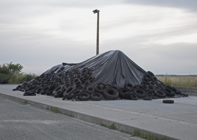 , 'Monument (Pneus),' 2010, UN-SPACED