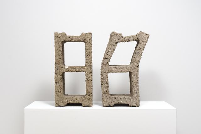 , 'Cinder Blocks,' 2015, Fleisher/Ollman