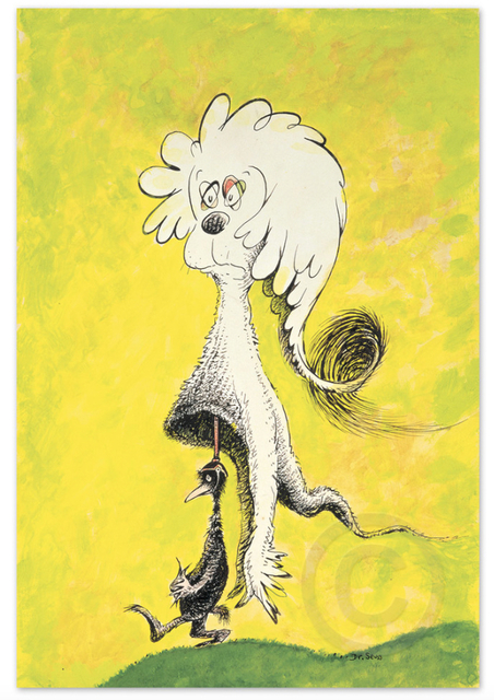 Dr. Seuss, 'Dr. Seuss, Fooling Nobody', Oliver Cole Gallery