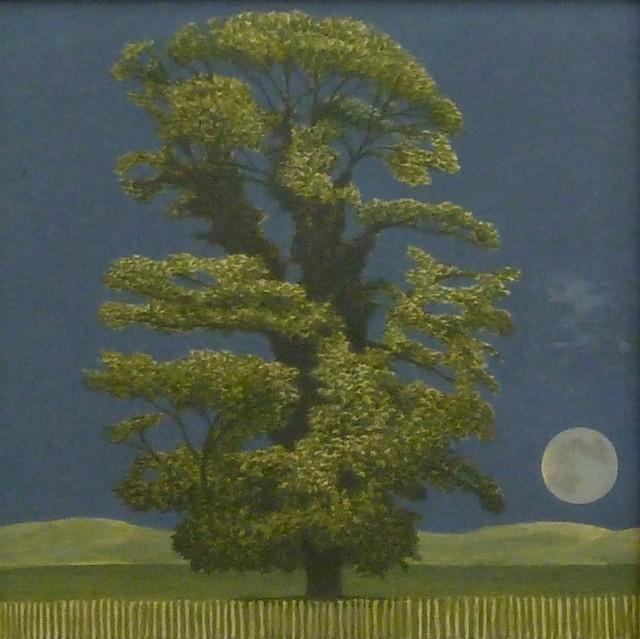 , 'Sycamore Tree and Moon,' 2017, Sladers Yard