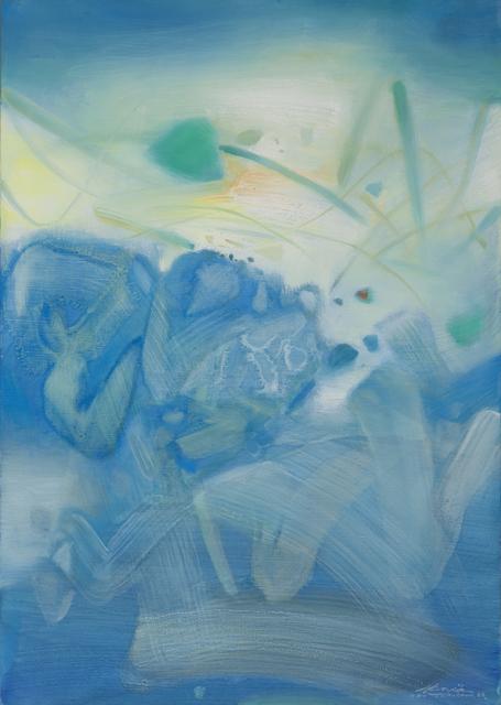 , 'Atmosphère bleue III,' 1988, Opera Gallery
