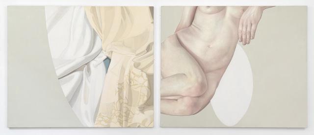 Alison Watt, 'Mme Riviere - Fragment V', 1997, Flowers