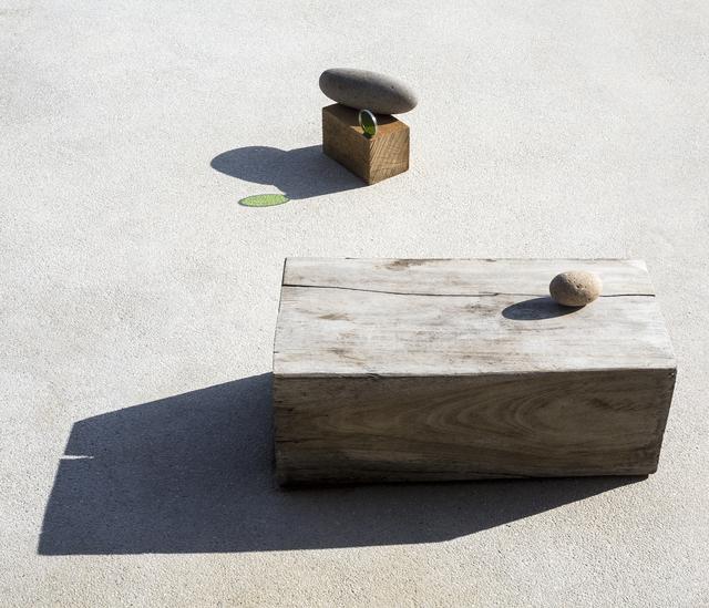 Ilán Rabchinskey, 'Wood, stones, chromatic filter', 2017, Patricia Conde Galería