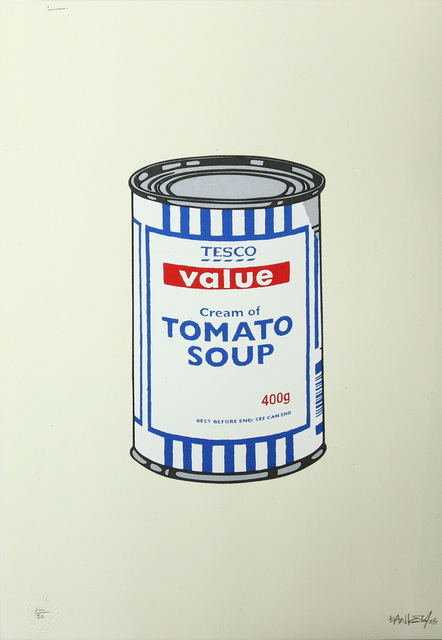 Banksy, 'Soup Can (Original Colourway)', 2005, Gormleys Fine Art