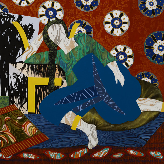 ", 'Portrait Fifteen - after Matisse's ""Odalisque with Turkish Chair 1928"",' 2018, Gallery NAGA"