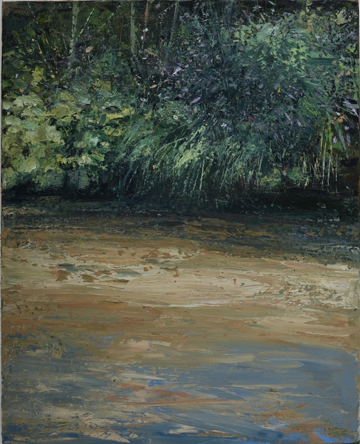 , 'Riverbank with Buddleja II,' , Oliver Sears Gallery