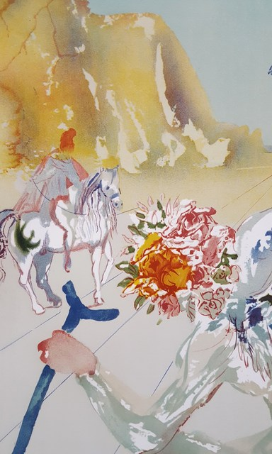 Salvador Dalí, 'Helen of Troy (Angel with Wand)', 1977, Print, Photolithograph, Graves International Art