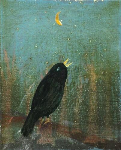, 'Untitled (Black Bird),' 2017, Galerie Bart