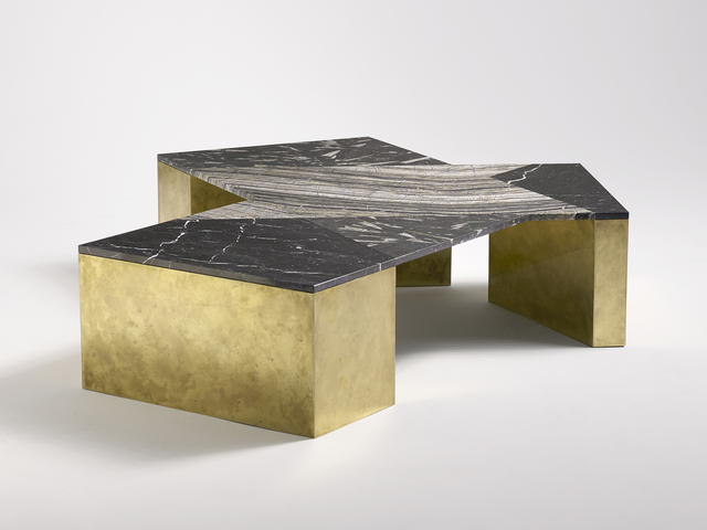 Brian Thoreen, 'Mixed Marble Coffee Table', 2015, Patrick Parrish Gallery