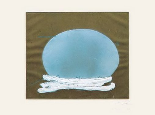 Antoni Tàpies, 'Oval i blanc', ARTEDIO