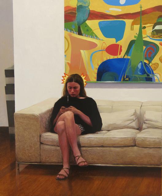 , 'Julia Halton buscando un tutorial de pegamentos,' , Sala Parés