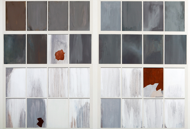 , 'Gates Factory Window #3 (Grid with Rust),' 2012, David B. Smith Gallery