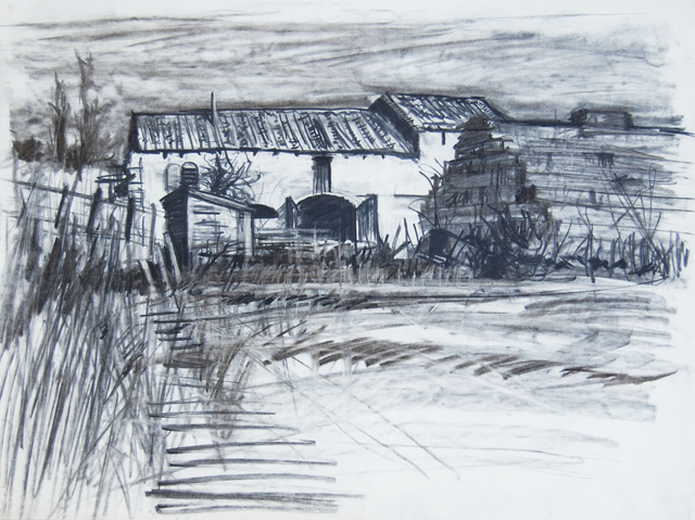 Geoffrey Lefever, 'Provencal barn', 1969, Robert Eagle Fine Art