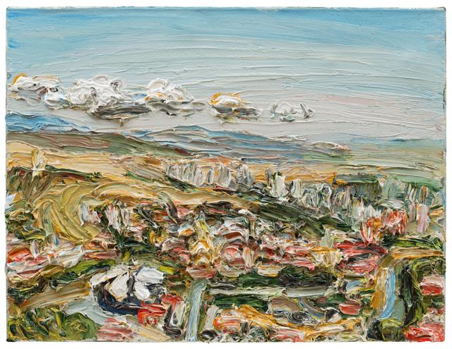 , 'Tiflis von oben,' 2017, Galerie Kornfeld