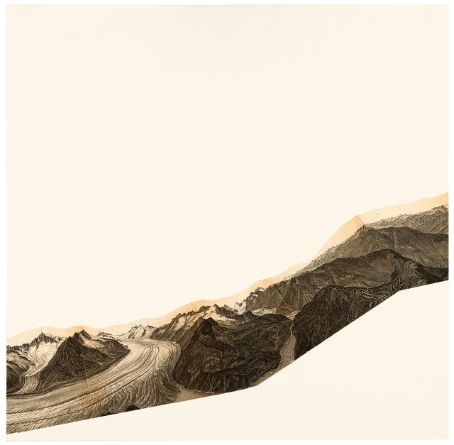 , 'Baedeker Collage,' 2018, Galerie nächst St. Stephan Rosemarie Schwarzwälder