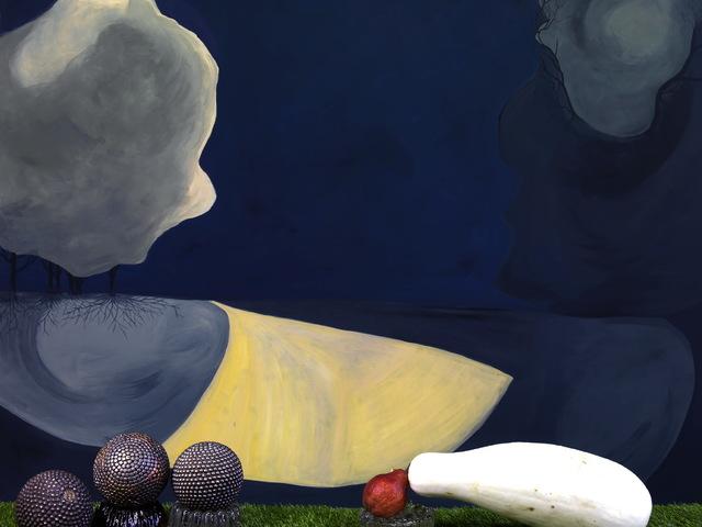 , 'Bleue du Berry,' 2019, Galerie XII
