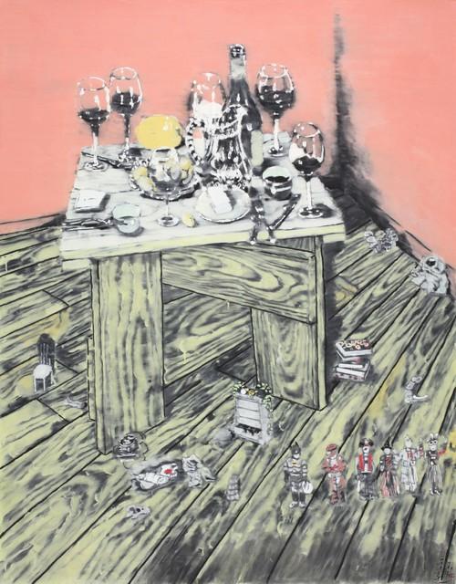 , 'The Life on the Corner,' 2010, Artvera's Art Gallery