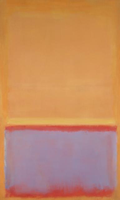 Mark Rothko, 'Untitled', 1954, Yale University Art Gallery