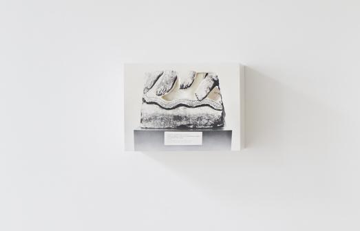 Johannes Doring, 'Orthostat / Tel Halaf', 2018, Sculpture, Silverprint on plaster, Galerie Greta Meert