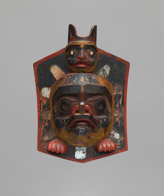 Anonymous Nuxalk artist, 'HEADDRESS FRONTLET (N4171)', ca. 1870, Donald Ellis Gallery