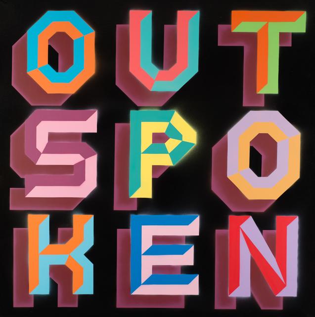 , 'Outspoken - Gas Pipe Font [2],' , Weinstein Gallery