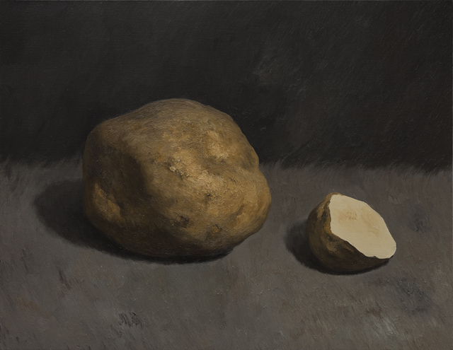 , 'Cutting Potatoes No.8,' 2015, Gallery Yang