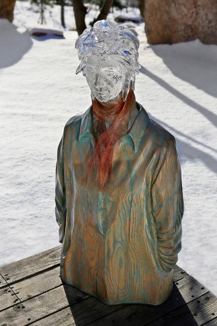 , 'Woman Wearing a Scarf,' 2014, Gallery Sklo